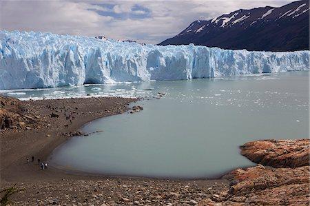 perito moreno glacier - View of the snout of Perito Moreno Glacier, Parque Nacional Los Glaciares, El Calafate, Patagonia, Argentina, South America Stock Photo - Premium Royalty-Free, Code: 682-05977102