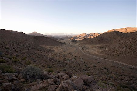 rugged landscape - The Richtersveld is a remote region which is hot and dry. It has both natural and cultural criteria that makes it unique. Northern Cape Province, South Africa Stock Photo - Premium Royalty-Free, Code: 682-05977263