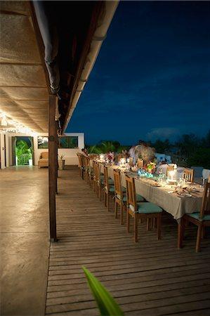 Ibo Island Lodge and New Year eve celebration, Quirimbas Archipelago, Northern Mozambique Stock Photo - Premium Royalty-Free, Code: 682-05977383
