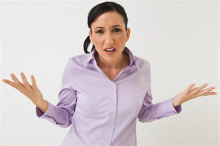 seamless - Frustrated Woman Stock Photo - Premium Royalty-Free, Code: 694-03329462