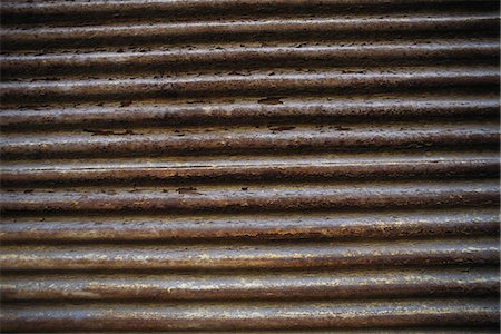 repeating - Corrugated metal Stock Photo - Premium Royalty-Free, Code: 695-05769503