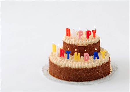 Birthday cake Stock Photo - Premium Royalty-Free, Code: 695-05778110
