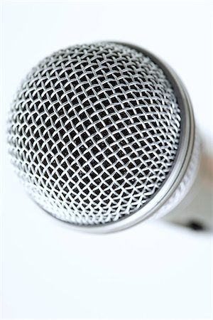 Microphone grille, extreme close-up Stock Photo - Premium Royalty-Free, Code: 695-05779519