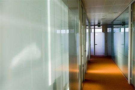 Empty office corridor Stock Photo - Premium Royalty-Free, Code: 695-05771814