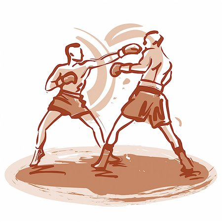 enemy - Boxing match Stock Photo - Premium Royalty-Free, Code: 695-05780418