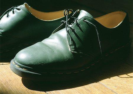 Pair of man's dress shoes. Stock Photo - Premium Royalty-Free, Code: 696-03397423