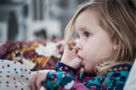 sucking - Girl sucking thumb Stock Photo - Premium Royalty-Free, Code: 698-05959129