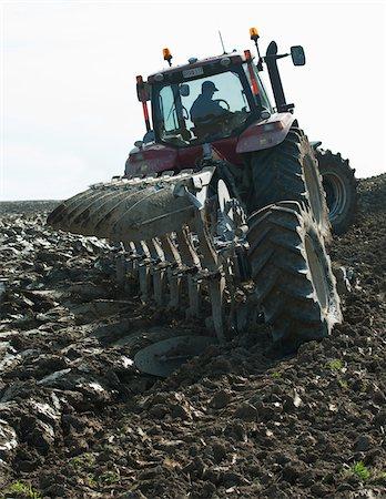 plow - Farmer plowing field Stock Photo - Premium Royalty-Free, Code: 698-05980499