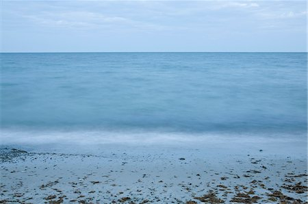 forever - Tranquil ocean water at dusk Stock Photo - Premium Royalty-Free, Code: 698-06374774
