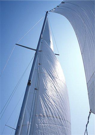 sailing boat storm - Sail Stock Photo - Premium Royalty-Free, Code: 698-03669828