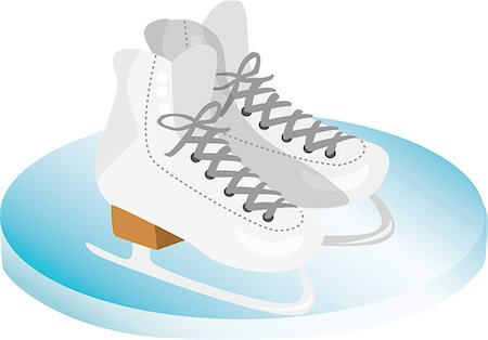 roller skate - Illustration Stock Photo - Premium Royalty-Free, Code: 690-06190081