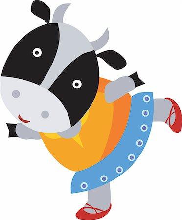 Cow Stock Photo - Premium Royalty-Free, Code: 690-03202143