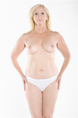 Woman flaunting her topless body Stock Photo - Premium Royalty-Free, Code: 693-05552871