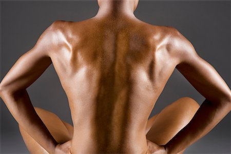 Back view of nude woman Stock Photo - Premium Royalty-Free, Code: 693-05552926
