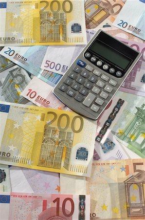 seamless - Money and Calculator Stock Photo - Premium Royalty-Free, Code: 693-06021277