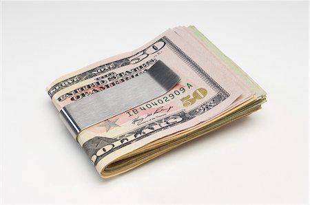 seamless - Money in Money Clip Stock Photo - Premium Royalty-Free, Code: 693-06021311