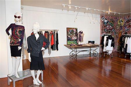 Interior of a fashion boutique Stock Photo - Premium Royalty-Free, Code: 693-06121223