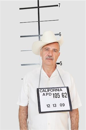 Mug shot of senior man Stock Photo - Premium Royalty-Free, Code: 693-06378942