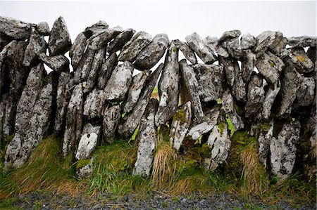 solid - Close-up view of stone wall, Ireland Stock Photo - Premium Royalty-Free, Code: 693-06667858