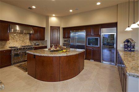 Classic Kitchen Stock Photo - Premium Royalty-Free, Code: 693-06667967