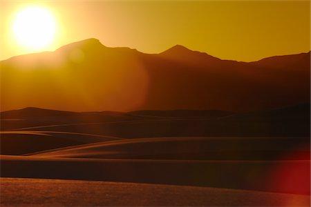 Desert at sunset, USA Stock Photo - Premium Royalty-Free, Code: 693-03317570