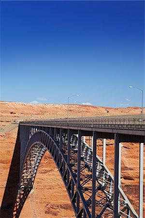 dependable - Bridge spanning canyon, USA Stock Photo - Premium Royalty-Free, Code: 693-03317583