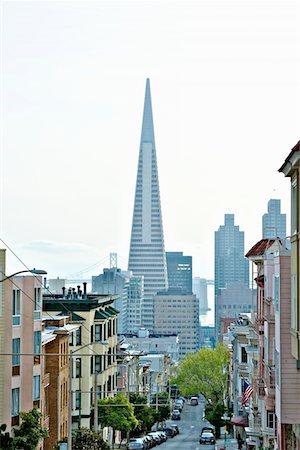 Transamerica Pyramid, San Francisco designed by William Pereira Stock Photo - Premium Royalty-Free, Code: 693-03474423