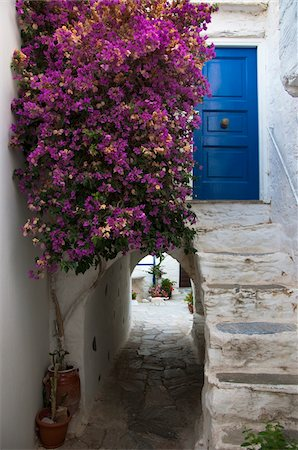 Architectural Detail, Old Syros, Cyclades Islands, Greece Stock Photo - Rights-Managed, Code: 700-04425017