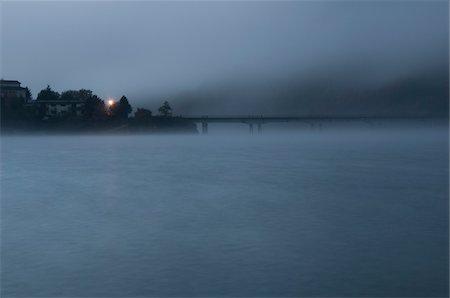 Ascrea Bridge at Dawn, Lago del Turano, Province of Rieti, Lazio, Italy Stock Photo - Rights-Managed, Code: 700-04929212