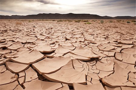 Close-Up of Dry, Cracked Earth, Awbari, Fezzan, Libya Stock Photo - Rights-Managed, Code: 700-04931582
