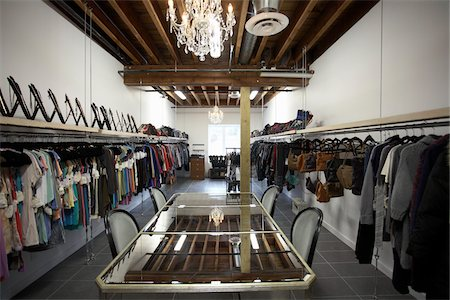 Interior of Clothing Showroom Stock Photo - Rights-Managed, Code: 700-04981811