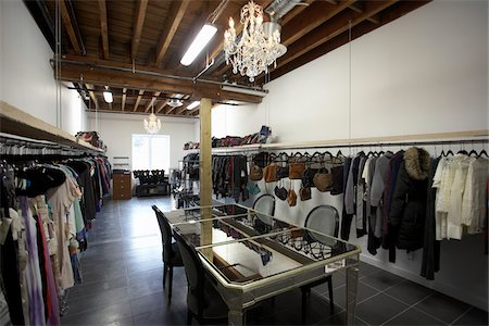 Interior of Clothing Store Stock Photo - Rights-Managed, Code: 700-04981812