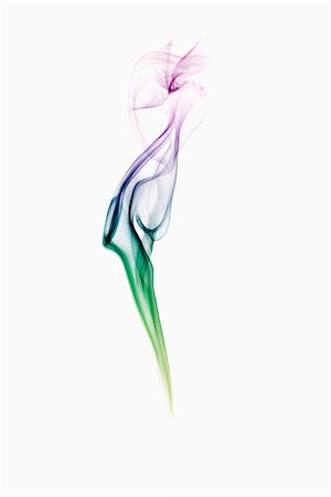 Multi-Coloured Smoke Stock Photo - Rights-Managed, Code: 700-05389220