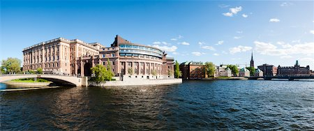 stockholm - Parliament Building, Gamla Stan, Stockholm, Sweden Stock Photo - Rights-Managed, Code: 700-05389387