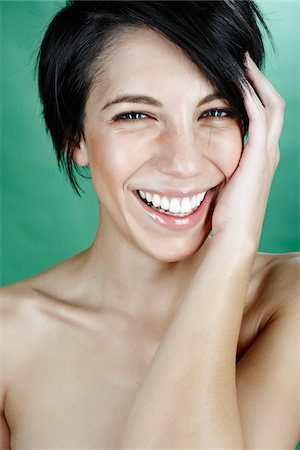 Portrait of Woman Stock Photo - Rights-Managed, Code: 700-05451015
