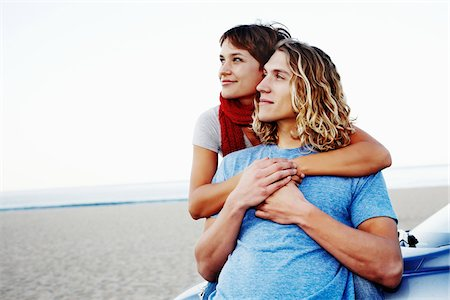 peter griffith - Couple at Beach Stock Photo - Rights-Managed, Code: 700-05451049
