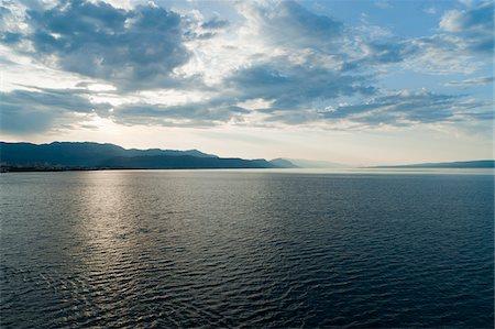 The sea and the coast near Split, Croatia, Europe. Stock Photo - Rights-Managed, Code: 700-05451884