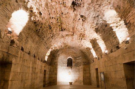 Basement Halls, Diocletian's Palace, Split, Dalmatia, Croatia Stock Photo - Rights-Managed, Code: 700-05451890