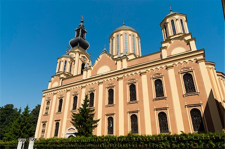 Serbian Orthodox Cathedral, Sarajevo, Federation of Bosnia and Herzegovina, Bosnia and Herzegovina Stock Photo - Rights-Managed, Code: 700-05451995