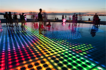 People Experiencing Sun Salutation Art Installation, Zadar, Zadar County, Dalmatia, Croatia Stock Photo - Rights-Managed, Code: 700-05452051