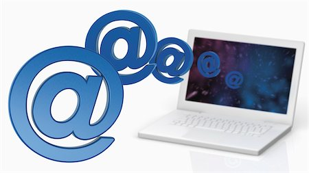 @ Symbols and Laptop Computer Stock Photo - Rights-Managed, Code: 700-05452101