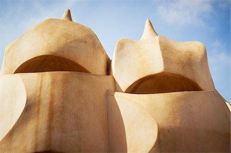 Close-Up of Espanta Bruixes, Casa Mila, Barcelona, Spain Stock Photo - Rights-Managed, Code: 700-05452122