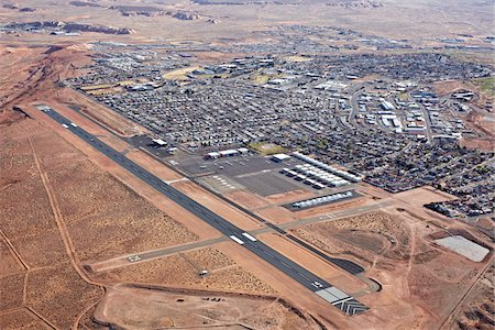 page - Runway, Page Municipal Airport, Page, Arizona, USA Stock Photo - Rights-Managed, Code: 700-05524550