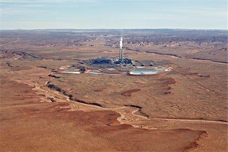 Navajo Generating Station, Navajo Reservation, near Page, Arizona, USA Stock Photo - Rights-Managed, Code: 700-05524551