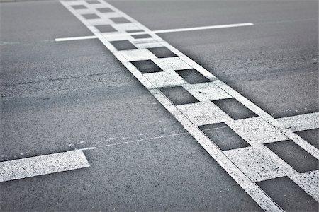 finish line - Monaco Grand Prix Start / Finish Line, Monte Carlo, Monaco, Cote d'Azur Stock Photo - Rights-Managed, Code: 700-05560285