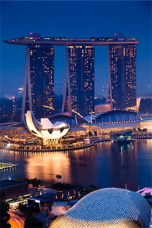 Marina Bay Sands Resort, Marina Bay, Singapore Stock Photo - Rights-Managed, Code: 700-05609420