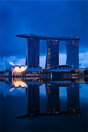 Marina Bay Sands Resort, Marina Bay, Singapore Stock Photo - Rights-Managed, Code: 700-05609432