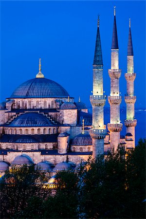 The Blue Mosque, Istanbul, Turkey Stock Photo - Rights-Managed, Code: 700-05609448