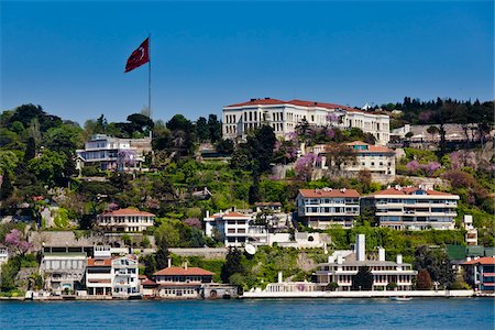european hillside town - Community along the Bosphorus, Istanbul, Turkey Stock Photo - Rights-Managed, Code: 700-05609485