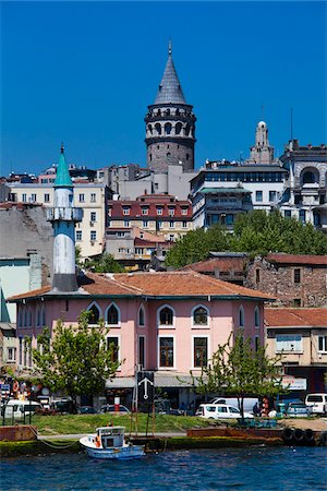 Galata Tower, Galata District, Istanbul, Turkey Stock Photo - Rights-Managed, Code: 700-05609480